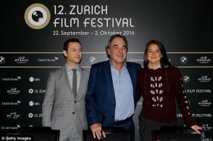 Snowden Zurich Photocall— Shailene Woodley -2016.9.25-