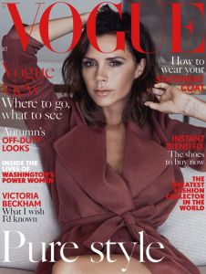 Victoria Beckham X Vogue UK October 2016 -2016.9.4-