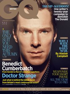 Benedict Cumberbatch X GQ UK November 2016 -2016.10.4-