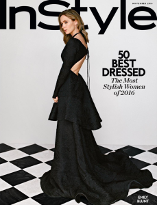 Emily Blunt X InStyle November 2016 -2016.10.12-