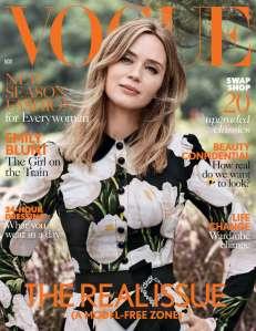 Emily Blunt X Vogue UK November 2016 -2016.10.6-
