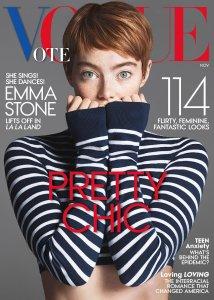 Emma Stone X Vogue US November 2016 -2016.10.15-