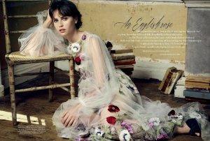 Felicity Jones X Harper's Bazaar UK November 2016 -2016.10.7-