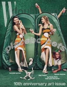 Kendall Jenner & Gigi Hadid X W Magazine November 2016 -2016.10.20-