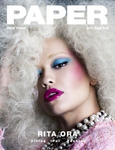 Rita Ora X Paper Magazine October 2016 -2016.10.19-