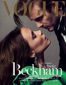 Victoria & David Beckham X Vogue Paris December 2013 Cover -2016.10.23-
