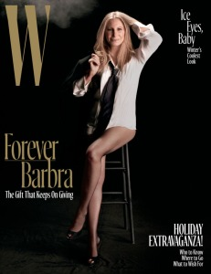 Barbra Streisand X W Magazine December 2016 -2016.11.20-