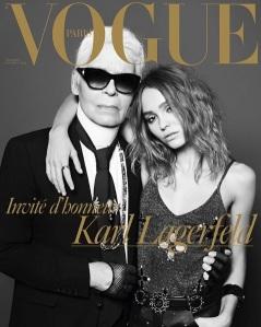 Karl Lagerfeld & Lily Rose Depp X Vogue Paris Dec 2016/Jan 2017 -2016.11.26-