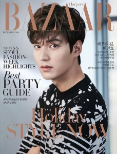 李敏鎬 X Harper's Bazaar Korea December 2016 -2016.11.19-