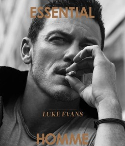 Luke Evans X Essential Homme October/November 2016 -2016.11.2-