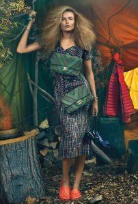 Natasha Poly X Harper's Bazaar Korea December 2016 -2016.11.28-