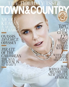 Nicole Kidman X Town & Country Magazine December/January 2016 2017 -2016.11.4-