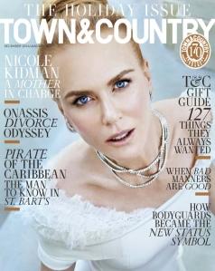 Nicole Kidman X Town & Country Magazine December/January 2016 2017 -2016.11.4-