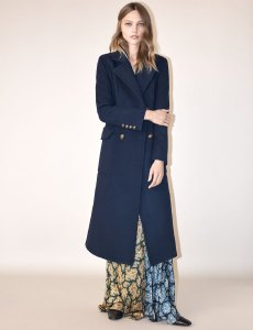 Sasha Pivovarova X ZARA Fall 2016 The Coat Edit Campaign -2016.11.27-
