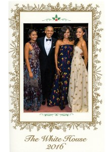 2016 White House Holiday Card -2016.12.26-