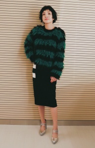 郭采潔 in Max Mara Fall 2016 -2016.12.14-
