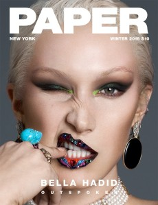 Bella Hadid X Paper Magazine Winter 2016 -2016.12.8-