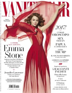 Emma Stone X Vanity Fair Italy January 2017 -2016.12.31-