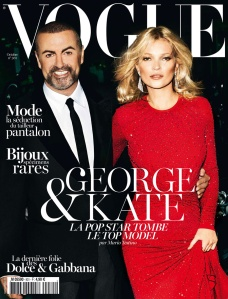 George Michael X Kate Moss Vogue Paris October 2012 -2016.12.27-