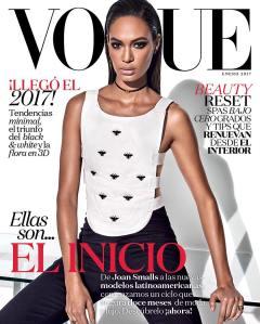 Joan Smalls X Vogue Mexico January 2017 -2016.12.30-