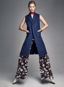 Karlie Kloss & Vanessa Axente X Vogue US January 2017 -2016.12.27-