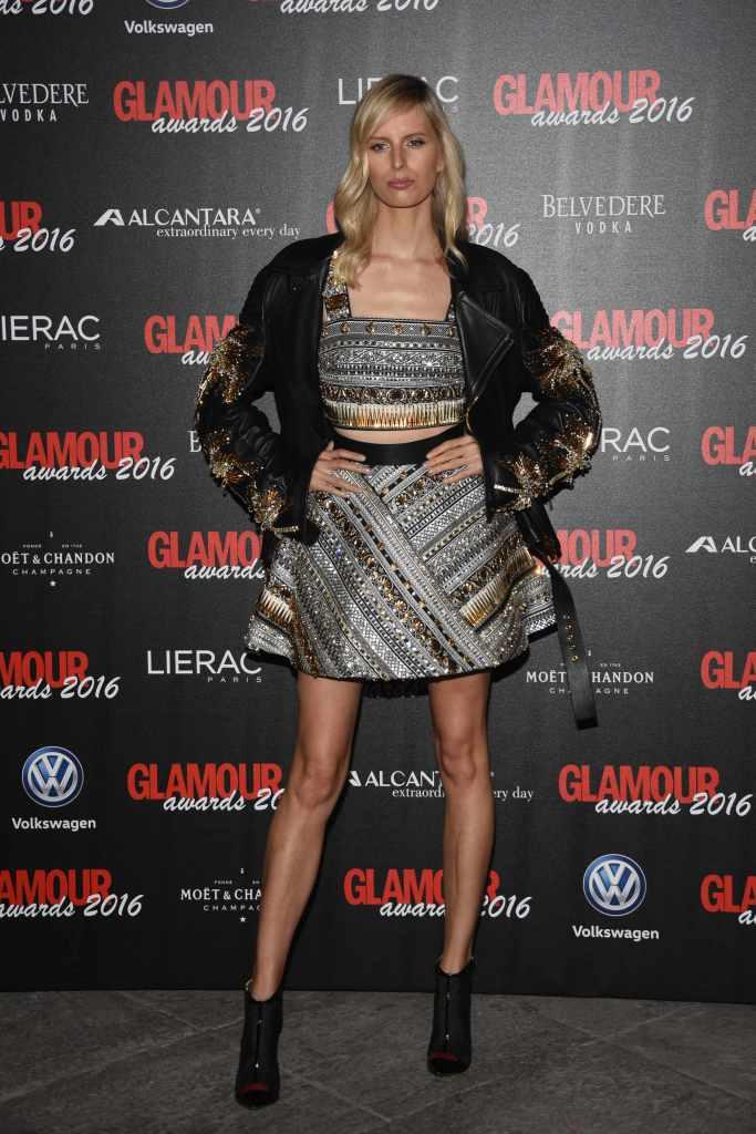 Glamour Awards 2016, Milan Italy -Karolina Kurkova, Melissa Satta, Marica Pellegrinelli, Carly Paoli, Nykhor Paul, Alberta Ferretti, Diego Della Valle