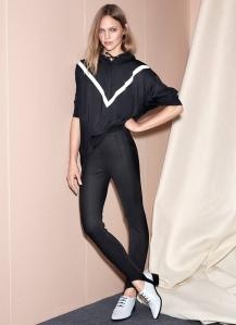 Sasha Pivovarova X H&M Spring 2017 Campaign -2016.12.30-