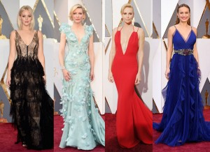 Top 10 Googled Oscar Dress for 2016 -2016.12.19-