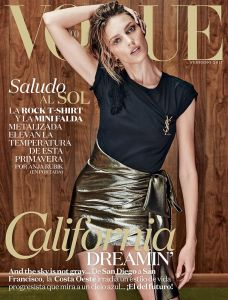 Anja Rubik X Vogue Mexico February 2017 -2017.1.21-