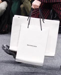 Balenciaga Fall 2017 Menswear Handbag -2017.1.18-