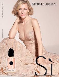 Cate Blanchett X Sì by Giorgio Armani 2017 Campaign -2017.1.31-