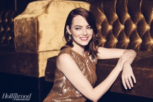 Emma Stone X The Hollywood Reporter February 2017 -2017.1.27-
