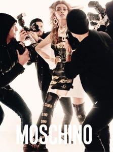 Gigi Hadid & Bella Hadid X Moschino Spring 2017 Campaign -2017.1.5-