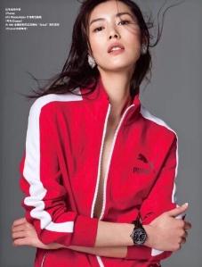 Liu Wen X 紅秀 Grazia China January 2017 -2017.1.22-