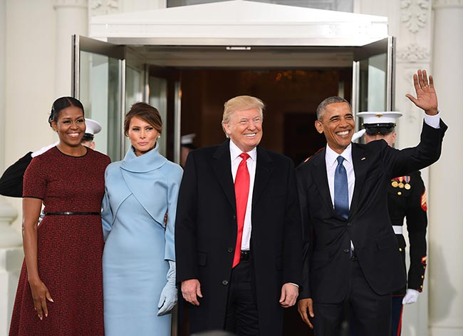 melania-trump-in-ralph-lauren-and-michelle-obama-in-jason-wu
