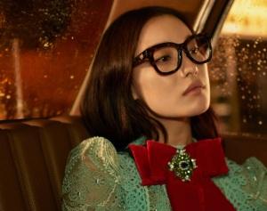 倪妮 X Gucci Spring 2017 Eyewear Campaign -2017.1.12-