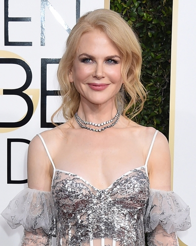Stars walk the red carpet at the 74th Annual Golden Globes in Beverly Hills