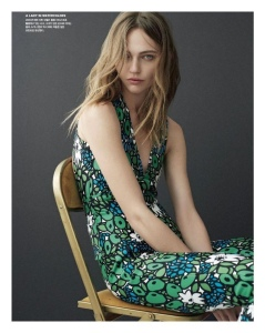 Sasha Pivovarova X Vogue Korea February 2017 -2017.1.19-