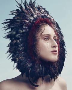 Anna Cleveland X Vogue Brazil January 2017 -2017.2.1-