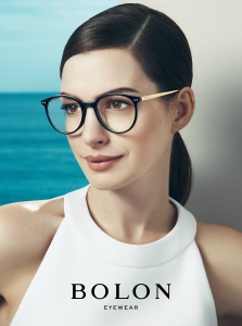 Anne Hathaway X Bolon Eyewear Spring 2017 Campaign -2017.2.8-