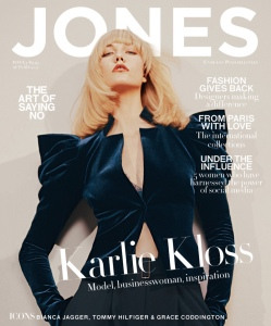Karlie Kloss X Jones Magazine Autumn-Winter 2017 -2017.2.17-