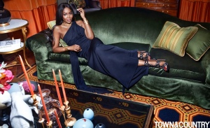 Naomi Campbell X Town & Country Magazine March 2017 -2017.2.4-