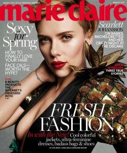 Scarlett Johansson X Marie Claire March 2017 -2017.2.7-