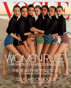 Vogue US March 2017 -2017.2.9-