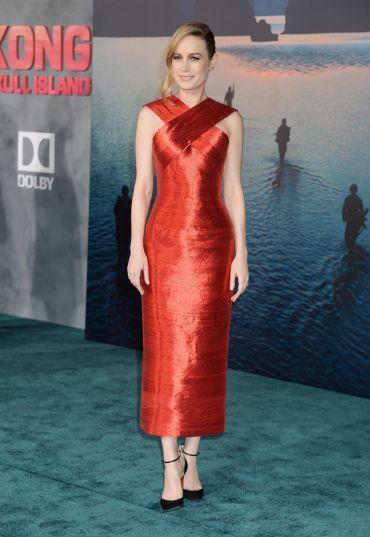 Brie Larson in Oscar de la Renta-1