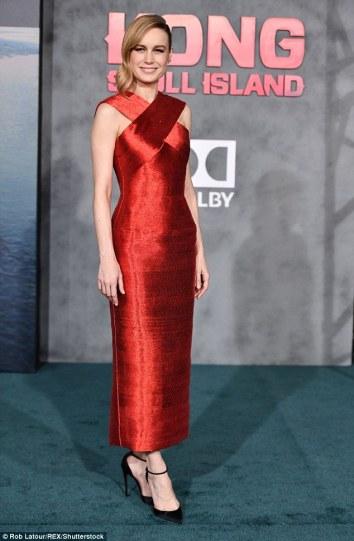 Brie Larson in Oscar de la Renta-3