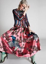 Coco Rocha Fashion Magazine April 2017-6