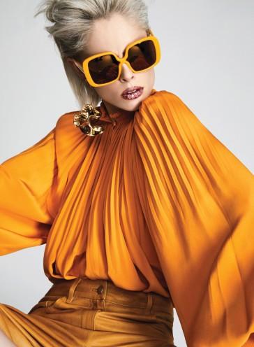 Coco Rocha Fashion Magazine April 2017-8