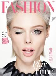 Coco Rocha Fashion Magazine April 2017 Cover A