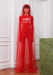 Givenchy Fall 2017 Look 1